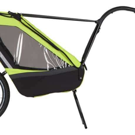 child bike trailer singletrailer side view