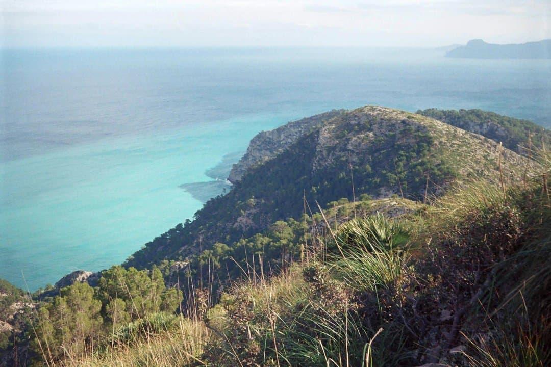 turkizno modro morje, plaža