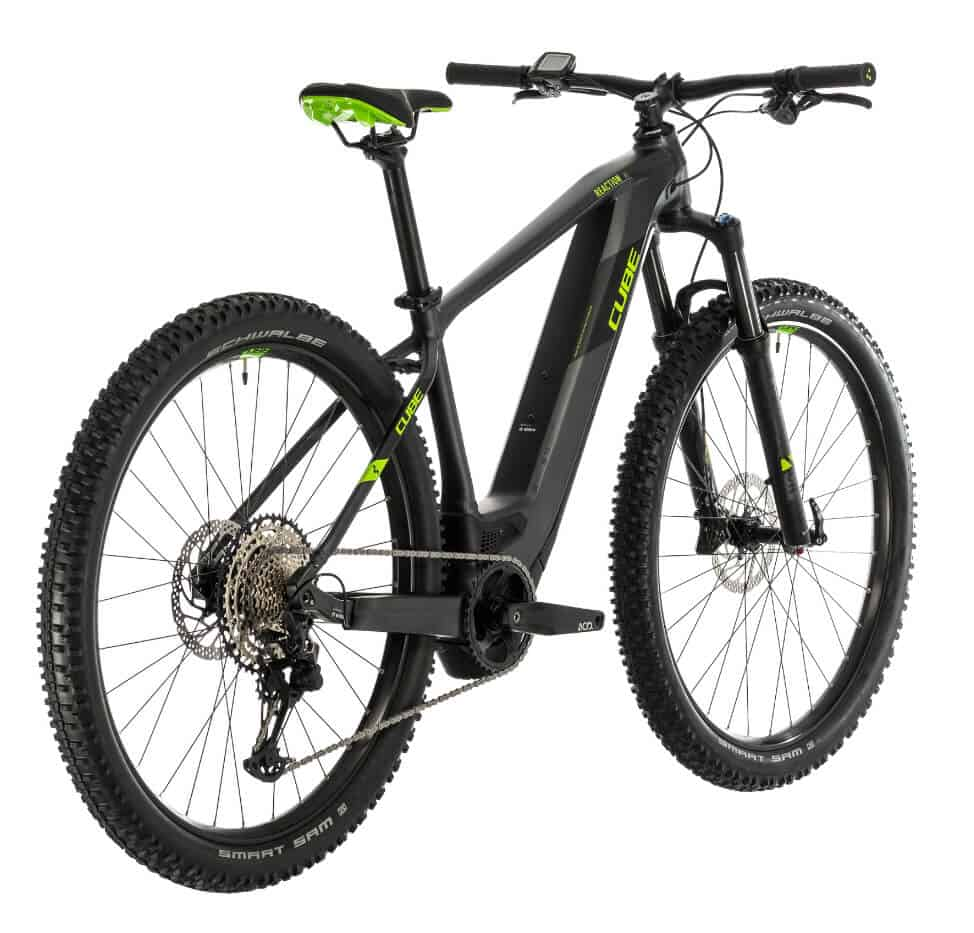 CUBE ebike for rent in vipava valley slovenia by RockVelo