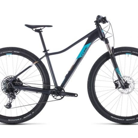 Womens bike CUBE 2020 available for rent in Slovenia by RockVelo ebike rentals and cycling tours
