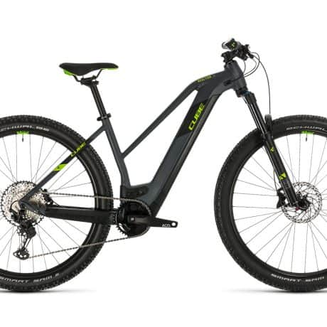 Womens Electric bike CUBE 2020 available for rent in Slovenia by RockVelo ebike rentals and cycling tours.