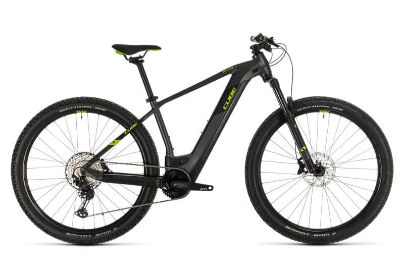 Electric mountain bike CUBE year 2020 available for rent in Slovenia by RockVelo ebike rentals and cycling tours.