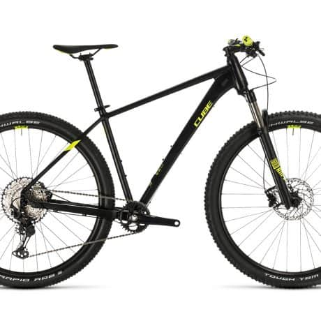 Mens bike CUBE 2020 available for rent in Slovenia by RockVelo ebike rentals and cycling tours
