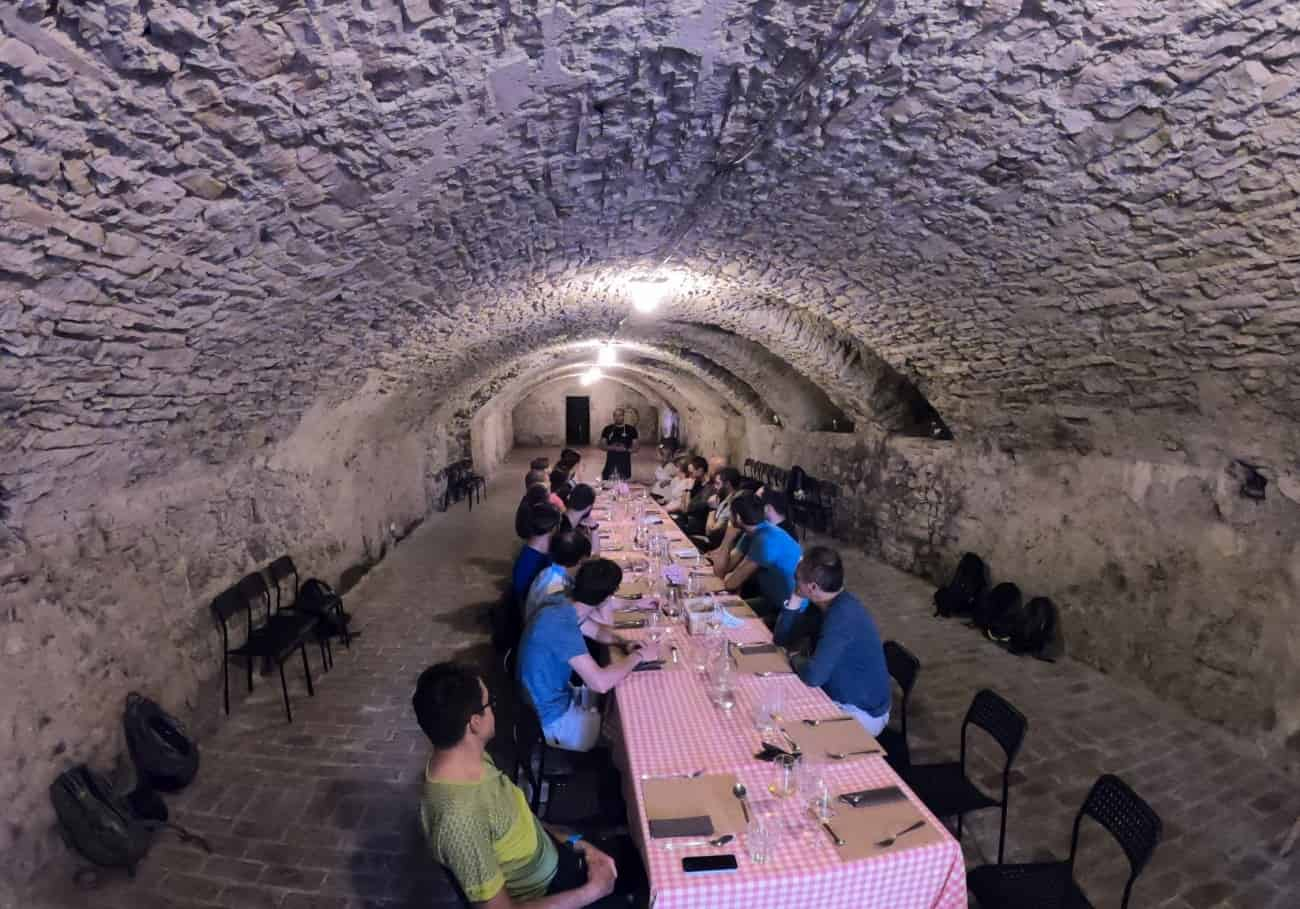 Teambuilding vipavska klet degustacija vina RockVelo
