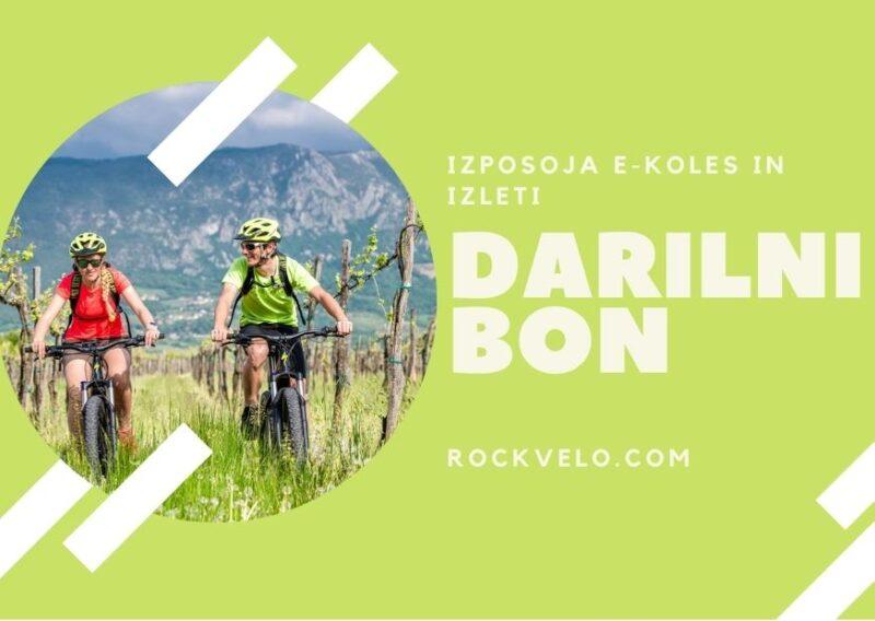Darilni bon za izlet z E-kolesi po Vipavski dolini
